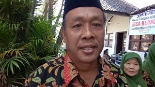 Cakades Bambang Sukopolo Unggul dalam Pilkades Kedungan Pedan Tahun 2017