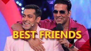 Salman Khan & Akshay Kumar The New Best Buddies In B-Town | Bollywood News