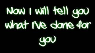 Evanescence- Going under lyrics (New effects)