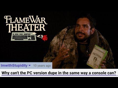 Flame War Theater -