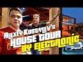Aleksey Kostylev's house tour by electronic