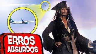 10 ERROS TOSCOS EM PIRATAS DO CARIBE! ❌  🆘