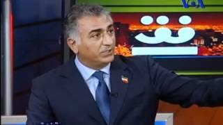 نظر شاهزاده رضا پهلوی درباره شاهین نجفی،20/6/2012