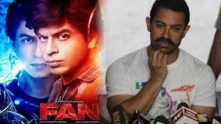 Watch Video : Aamir Khan talks about FAN And Srk