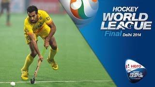 Germany vs India - Men's Hero Hockey World League Final India Pool A [13/1/2014]