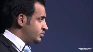 Best  public speaking champion ever Mohammed Qahtani