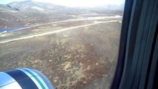 Alaska Airlines Landing At Red Dog Mine
