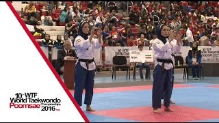 1st Place | Team Over 30 Female / IRAN SENIOR NATIONAL TEAM