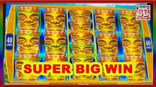** SUPER BIG WIN ON NEW KONAMI GAME ** HAWAIIAN SHORES ** SLOT LOVER **