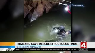Former Navy diver dies while exiting flooded Thai caves
