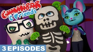 """Gummy Bear Show """"SCARY"""" Gummibär And Friends Episode Compilation"""