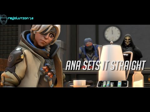 Ana Sets it Straight [Overwatch HRADSS SFM]