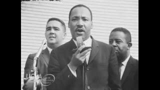 """KTLA News: """"Martin Luther King, Jr. urges people to vote"""" (1964)"""