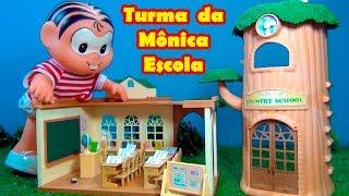 Turma da Mônica - Monica ganha uma escola para brincar de professora #turmadamonica