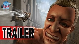 Attack on Titan Video Game Official Announcement Trailer
