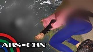 TV Patrol: Pugot na ulo ng babae, natagpuang lumulutang sa creek
