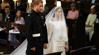 الأمير هاري وميغن ماركل يعقدان قرانهما رسميا في كنيسة القديس جاورجيوس في ويندسور