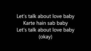 Lets Talk About Love baaghi lyrics