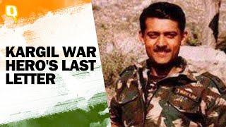 A Kargil War Hero's Last Letter: Father Reads Son's Final Goodbye