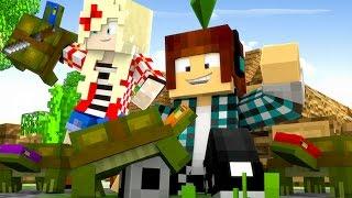 Minecraft : TARTARUGAS NINJAS !! - The Sims Craft 2 #05