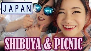 Hanging out in Shibuya | Picnic in Yoyogi | KimDao in JAPAN