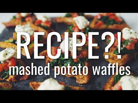Xxx Mp4 MASHED POTATO WAFFLES RECIPE EP 15 Hot For Food 3gp Sex