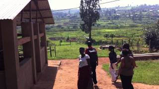 Arriving at Solace Ministries Farms at Kabuga in Rwanda - Monday 24th Oct 2011