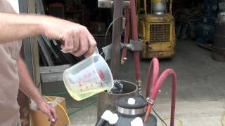 Gasoline Vapor Carburetor #3 With Ultrasonic & Radiator Heated 8-20-201