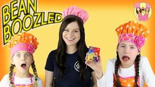 BEAN BOOZLED CHALLENGE - Charli's crafty kitchen & guest Elly gross candy taste test