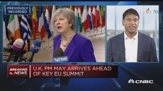 Novartis CEO: No fundamental changes to operations from Brexit   Squawk Box Europe