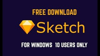 Download sketch App  For windows | Available only for windows 10 users