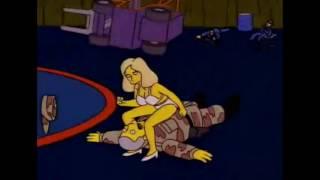 Oye pero que pasa (tia en bikini) | Los Simpson