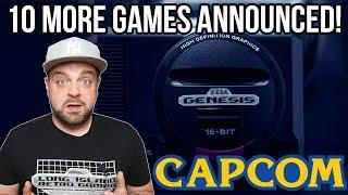 10 NEW Sega Genesis Mini Games REVEALED!
