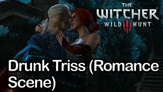 The Witcher 3 - Drunk Triss (Romance Scene)