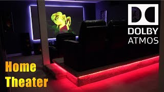Majestechs Home Theater Tour 2018 - 4K Dolby Atmos Home Cinema Overview