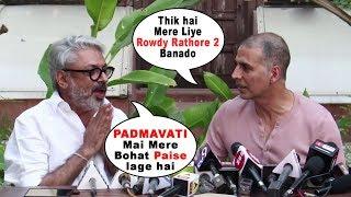 Akshay Kumar Postponed Padman Release For Padmavati | Sanjay Leela Bhansali, Ranveer Singh, Deepika