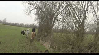 South Shropshire & Ledbury Hunt Joint Meet 27th January 2017