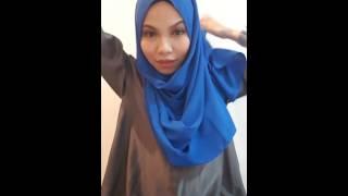 Diana Hijab Tutorial #01 [Safiyyah Instant Shawl]