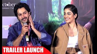 OCTOBER Trailer Launch UNCUT HD - Varun Dhawan, Banita Sandhu, Shoojit Sircar