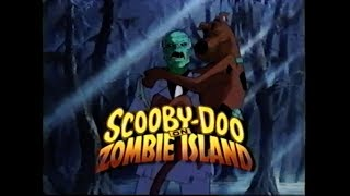 SCOOBY DOO ON ZOMBIE ISLAND MOVIE TRAILER [VHS] 1998