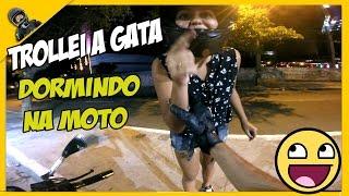 🔵 TROLLEI A GATA FINGINDO QUE ESTAVA DORMINDO E PILOTANDO VEJA! / TONH MILLER