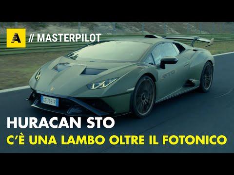 Lamborghini HURACAN STO Oltre al FOTONITICO c è LEI Super Trofeo Omologata