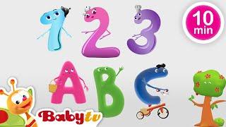 Colección de canciones sobre el ABC y los números para niños | BabyTV Español