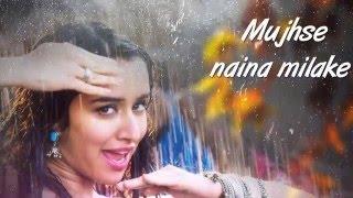 Lyrics Cham Cham BAAGHI   Tiger Shroff, Shraddha Kapoor   Meet Bros, Monali Thakur-Spreading Smiles