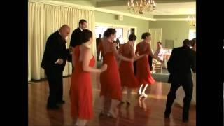 Cupid Shuffle Dance at Wedding Reception!