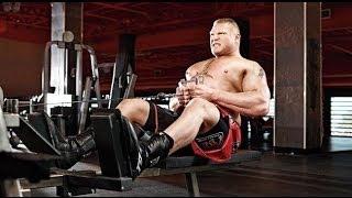 Exclusive New Brock Lesnar Inspirational Workout full 2014