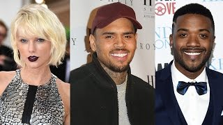 Taylor Swift, Chris Brown, Ray J & More Celebs Respond to Kanye's 'Famous' Video