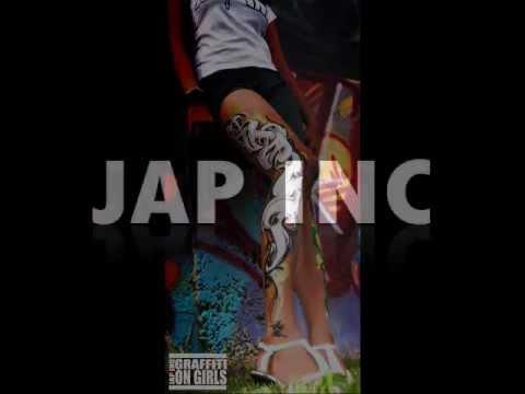 JAP INC GRAFFITI ON GIRLS