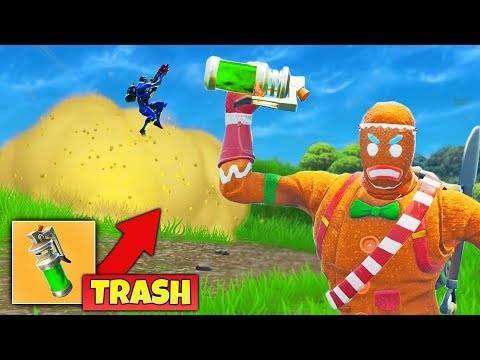 NEW STINK BOMB STINKS trash in Fortnite Battle Royale
