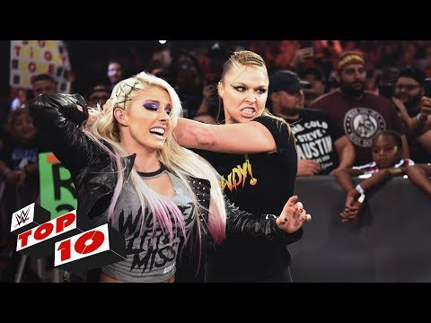 Xxx Mp4 Top 10 Raw Moments WWE Top 10 July 16 2018 3gp Sex